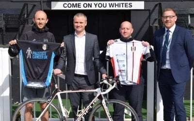 DMC Canotec supporting Fulham FC's charity ride