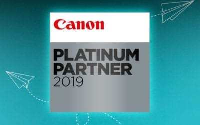 'A Canon Platinum Partner': The Mark of Continued Excellence