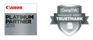 DMC Canotec is a leading Canon Platinum Partner. and CompTIA MPS Trustmark holder