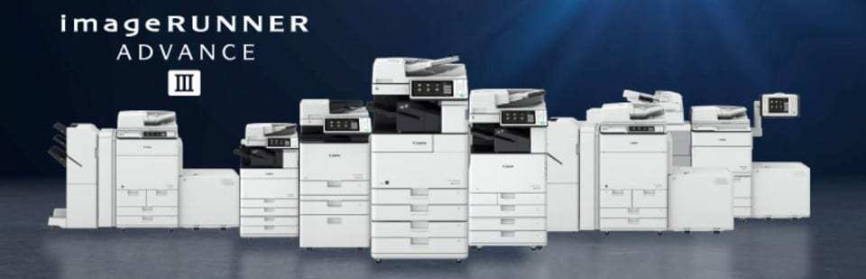 The new Canon imageRUNNER ADVANCE Generation 3 series is a range of intuitively designed multi-function printers that enhance user experience, increase workflow efficiencies and produce maximum security to suit any business needs.