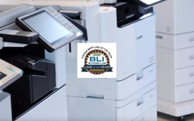 Canon wins BLI 2020 Copier MFP Line of the Year